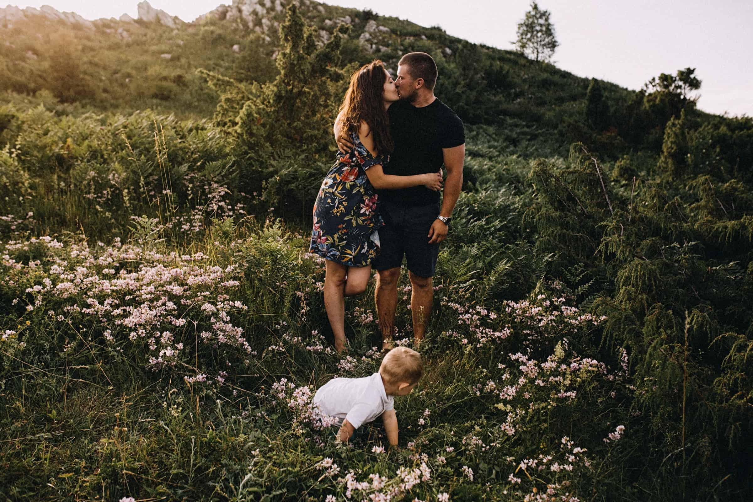 sesja poślubna z synem